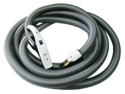7M ON/OFF HOSE W/BUTTON SWITCH HANDLE + SWIVEL END CUFF