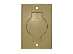 Round Door Inlet Valve – Ivory